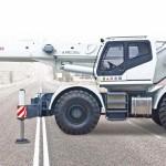 Самоходный кран Zoomlion RT550 купить цена характеристики