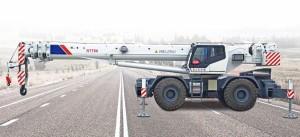Самоходный кран Zoomlion RT750 купить цена характеристики