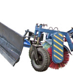 Плужно-щеточное оборудование для мини-трактора купить цена