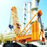 Гусеничный кран XCMG XGC15000 купить цена характеристики